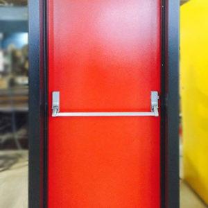 Fire Door Red