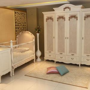 İhtişam Klasik Bebek Odasi Takımı